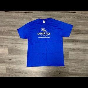 Royal blue Cayman Jack Large T-shirt